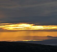 Sunset from Cadillac Mountain by andyessex