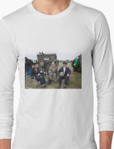 Commemoration of The Hardest Day took place at Biggin Hill Airport Long Sleeve T-Shirt