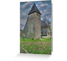 St.James, Bicknor, Kent Greeting Card