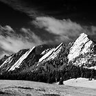The Majestic Flatirons by Greg Summers