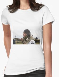 Commemoration of The Hardest Day took place at Biggin Hill Airport Womens Fitted T-Shirt
