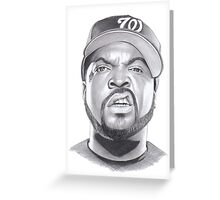 ice cube drawing Greeting Card