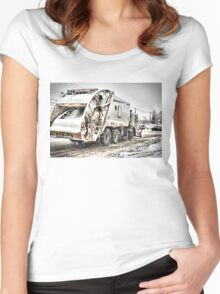 NYC Sanitation DSNY Women's Fitted Scoop T-Shirt