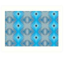 Blue Alter Ego 1 Art Print
