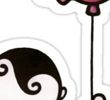 Elephant Dream - Boy with Balloon Sticker