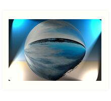 Blue Alter Ego 8 Art Print