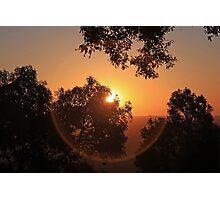 Sunset Orb Photographic Print