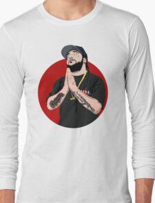 asap yams red circle Long Sleeve T-Shirt