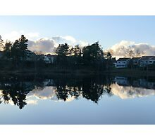 Swedish Suburb Photographic Print