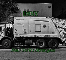 DSNY Garbage Truck photo #2 by wonderlandnyc