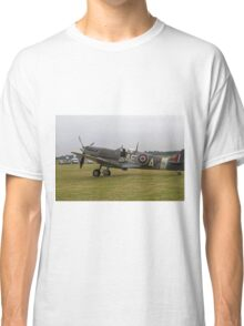 Spitfire at Commemoration of The Hardest Day took place at Biggin Hill Airport Classic T-Shirt