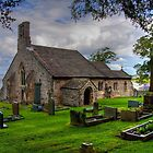 St Peter's Church - Heysham village by Peter Stone