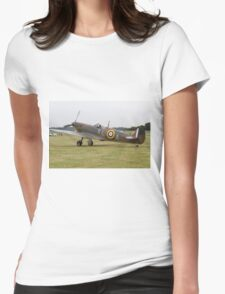 Spitfire at Commemoration of The Hardest Day took place at Biggin Hill Airport Womens Fitted T-Shirt