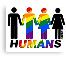 Humans Canvas Print