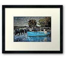 Fishermen's harbor Framed Print
