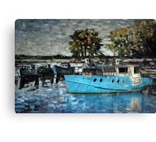 Fishermen's harbor Canvas Print