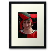 The best Court Jester Framed Print