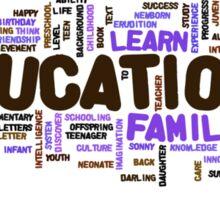 Education Sticker