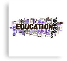 Education Canvas Print