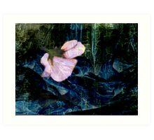 The Drowning Pool Flower Art Print