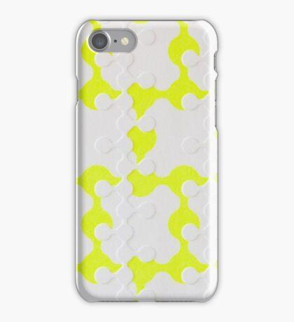 Neon Puzzle iPhone Case/Skin