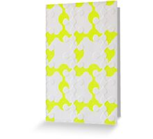 Neon Puzzle Greeting Card