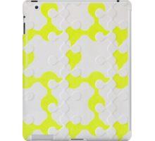 Neon Puzzle iPad Case/Skin