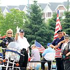 Local Veterans Celebrating by kkphoto1