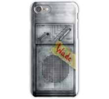 Classic Old vintage dirty dusty Walkman iPhone Case/Skin
