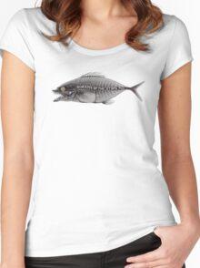 qotsa fish Women's Fitted Scoop T-Shirt