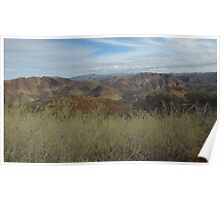 Flinders Ranges - a picturesque panorama Poster