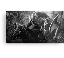 Ganondorf on his Horse Metal Print