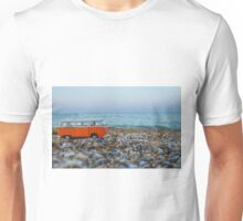 Orange the mini hippie bus Unisex T-Shirt