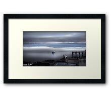 Merchant Moment Framed Print