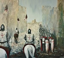 The Siege of Ascalon by Kaye Miller-Dewing