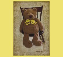 Storybook Teddy Bear with a Ribbon Kids Clothes