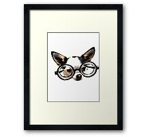 Funny Chihuaua Framed Print