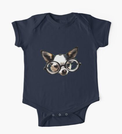 Funny Chihuaua One Piece - Short Sleeve