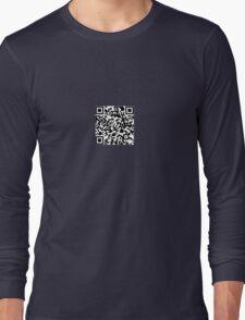 QR-Code Long Sleeve T-Shirt