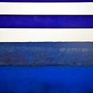 Boat Abstract in Blue by Catherine Hadler