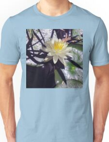 Water lily and shadows Unisex T-Shirt
