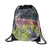 Dingo; Australian Wild Dog Drawstring Bag