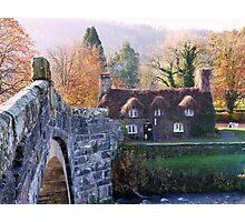 Cottage Tea Rooms, Llanrwst Photographic Print