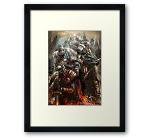 Blood and Souls  Framed Print