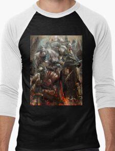 Blood and Souls  Men's Baseball ¾ T-Shirt