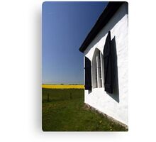 German chapel Canvas Print