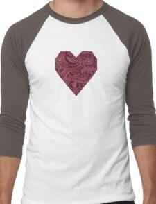 Paisley Pals  Men's Baseball ¾ T-Shirt