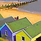 BEACH HUTS.SOUTHWOLD.SUFOLK.UK by gailflipper