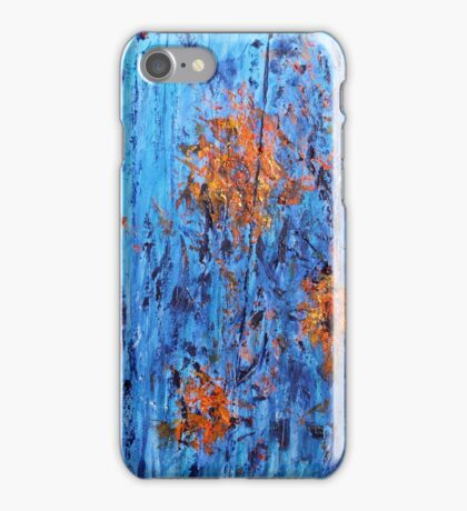 Fireflies by the Lake - Painting iPhone Case/Skin