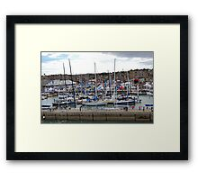 BUSY COWES WEEK. AUG 2010. No 3 Framed Print
